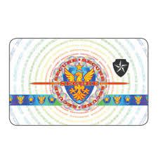 "DATACARD DuraGard OptiGram 1.0 mil, ""Secure Crest"" Laminate (Full Card)"