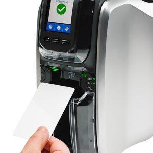 Imprimante de carte simple face ZEBRA ZC300