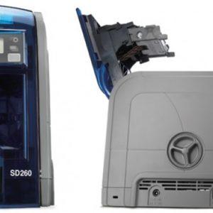 Imprimante Datacard SD260 avec un encodeur de piste magnétique